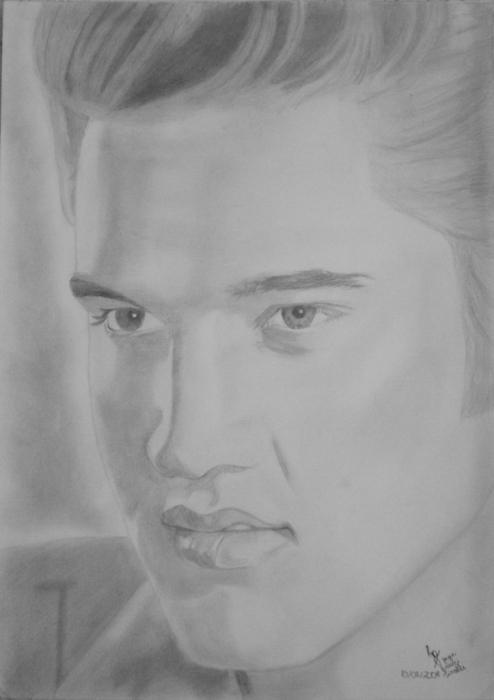 Elvis Presley by JoyceTirolli